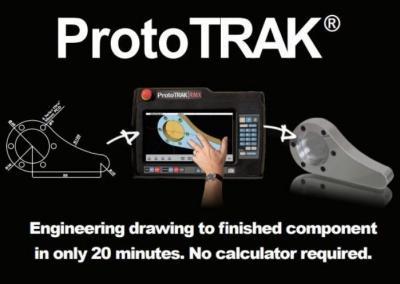 Řídící systém pro mechatronické obráběcí stroje - ProtoTRAK